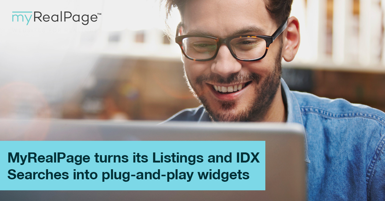 MyRealPage Turns Its Listings And IDX Searches Into Plug-And-Play Widgets
