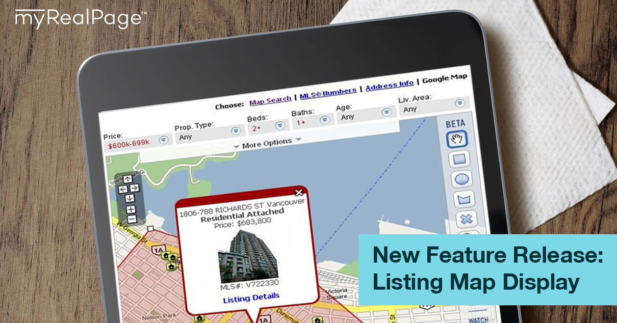 New Feature Release – Listing Map Display