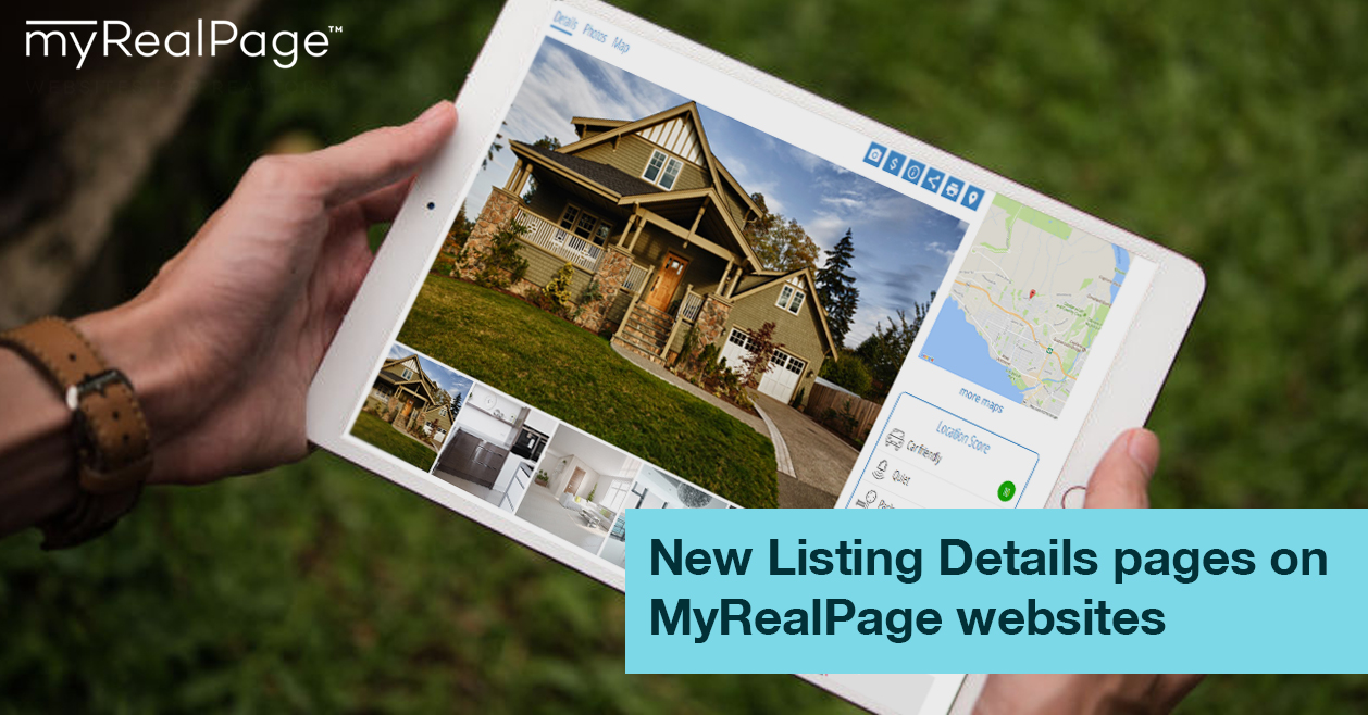 New Listing Details Pages On MyRealPage Websites