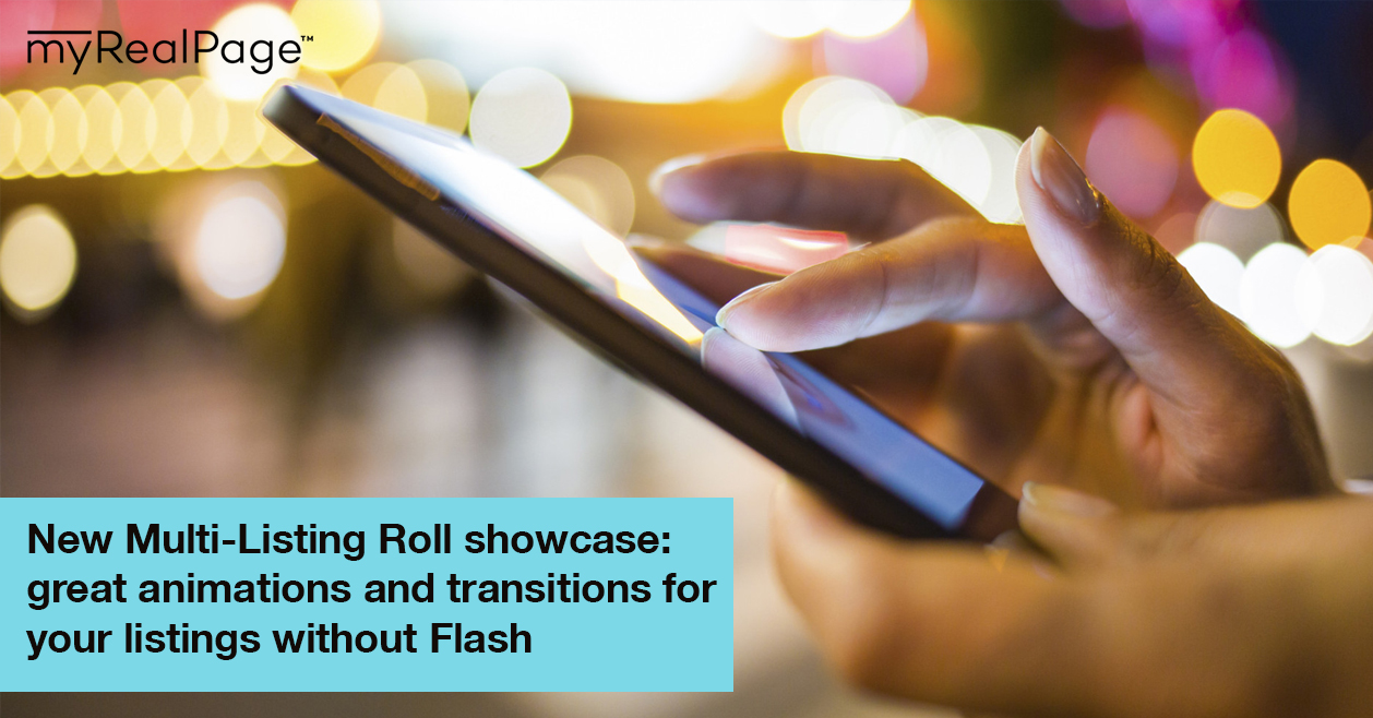 New Multi-Listing Roll showcase: great animations and transitions for your listings without Flash
