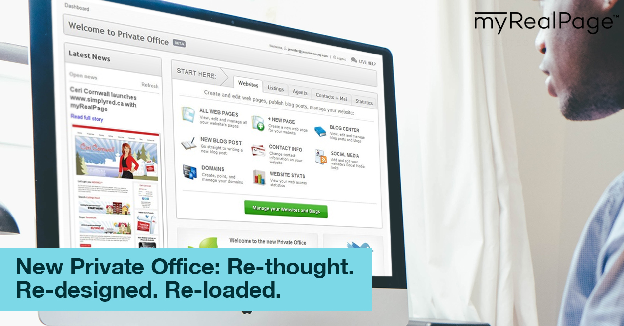 New Private Office: Re-thought. Re-designed. Re-loaded.
