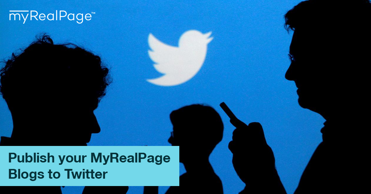 Publish your MyRealPage Blogs to Twitter