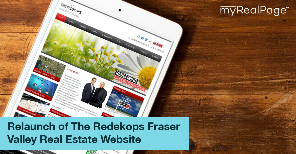 Relaunch of The Redekops Fraser Valley Real Estate Website
