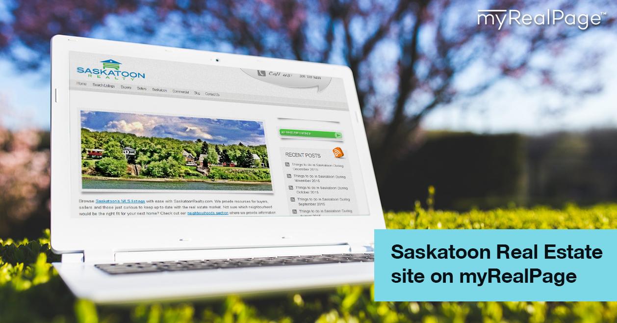 Saskatoon Real Estate site on myRealPage