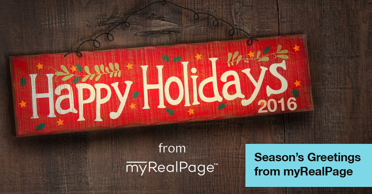 Season's Greetings from myRealPage