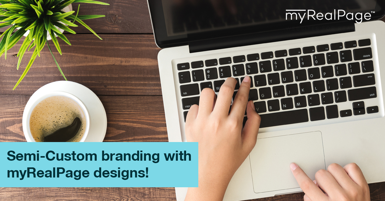 Semi-Custom branding with myRealPage designs!