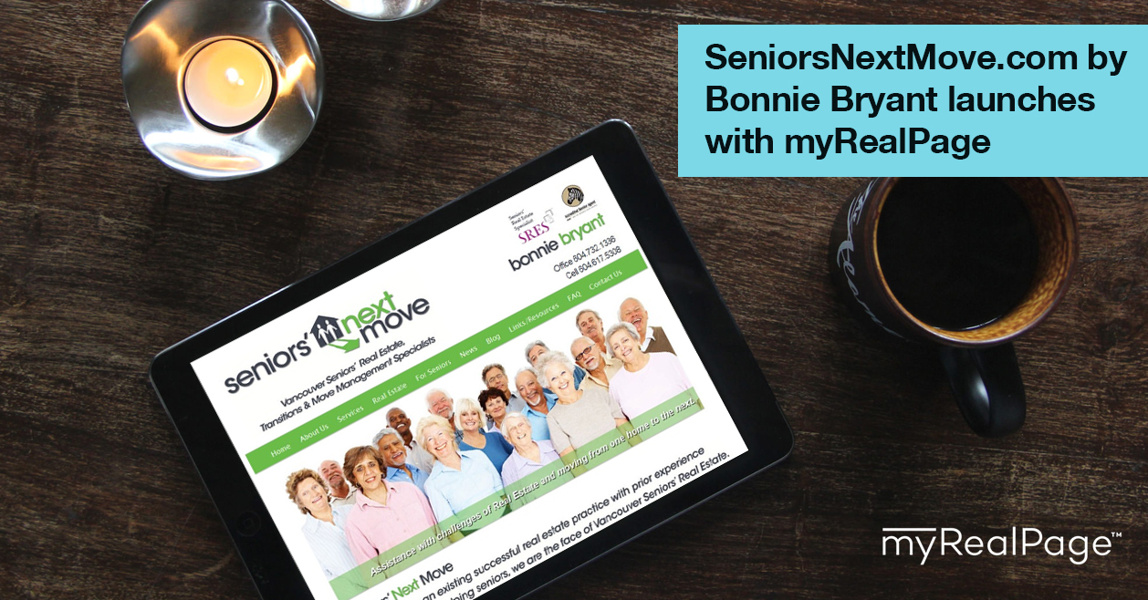 SeniorsNextMove.Com By Bonnie Bryant Launches With MyRealPage