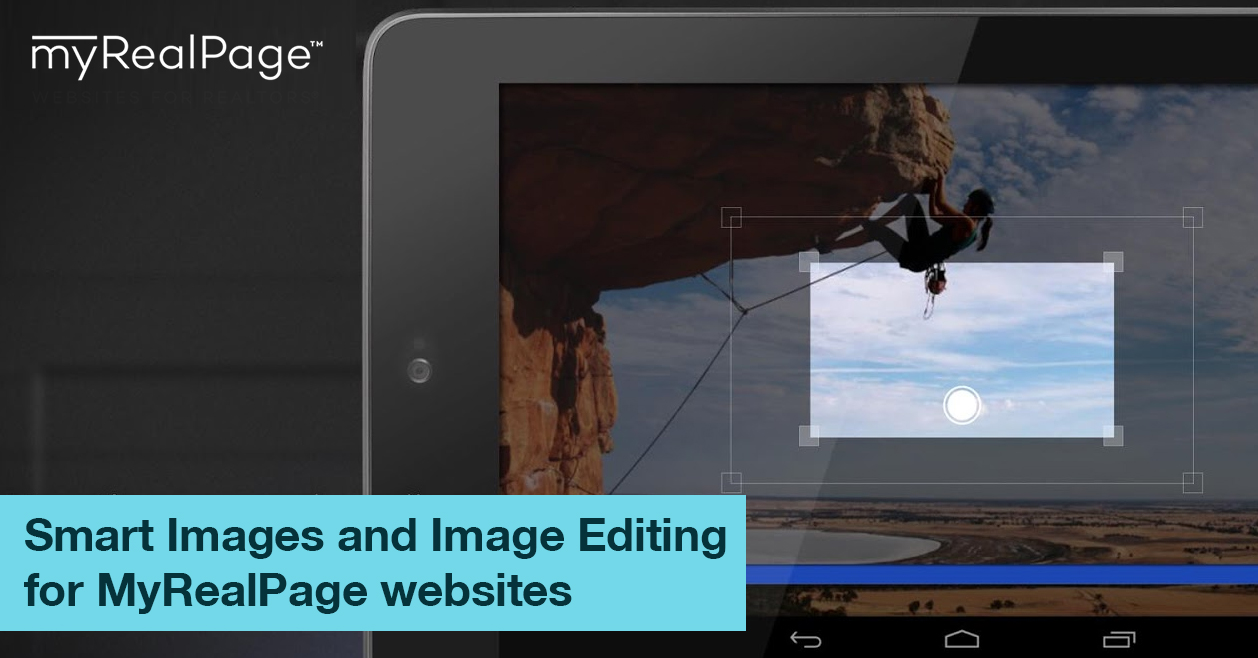 Smart Images And Image Editing For MyRealPage Websites