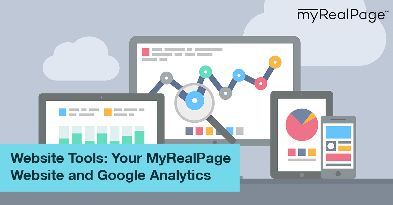 Website Tools: Your MyRealPage Website and Google Analytics