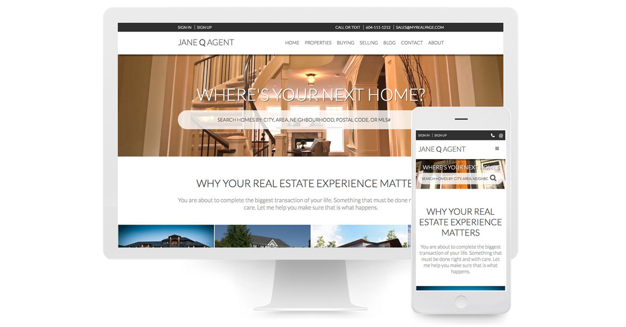 Why Every Realtor Needs a Responsive Website