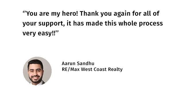 Aarun SandhuTestimonial
