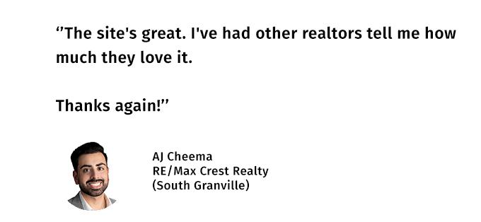 AJ Cheema Testimonial
