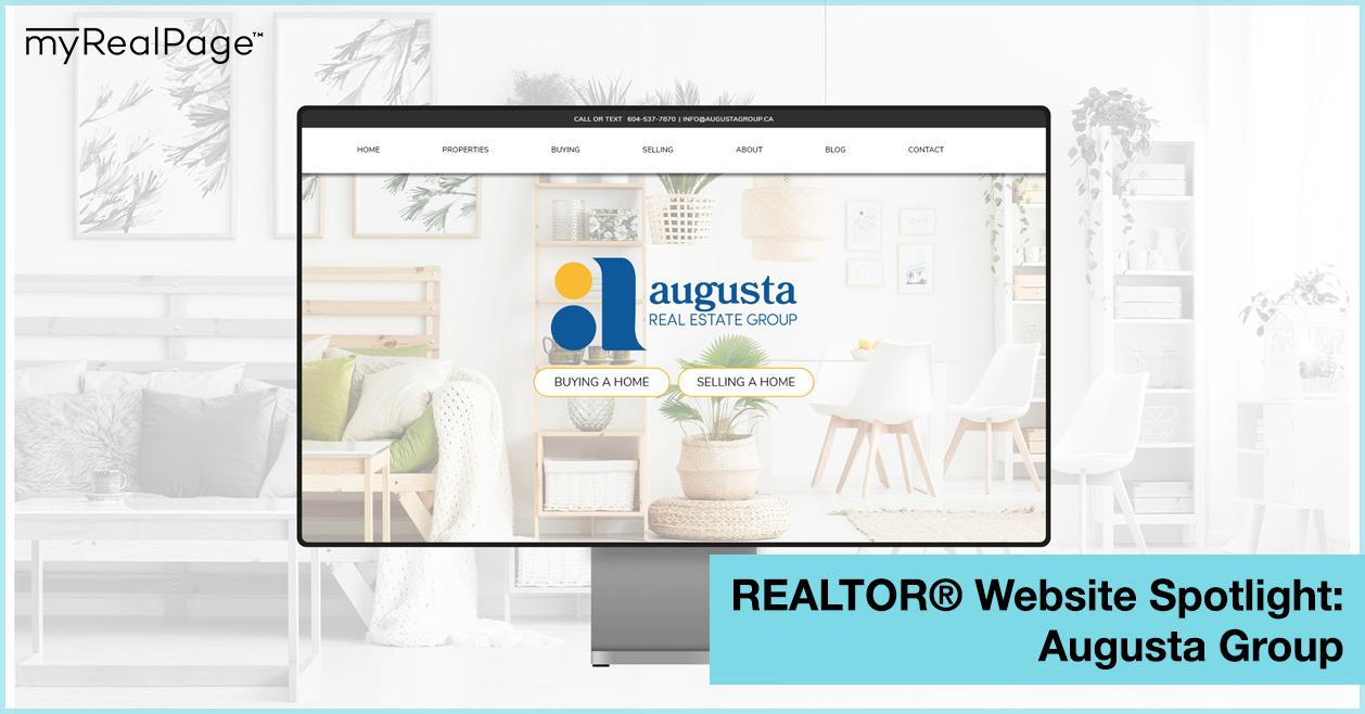 REALTOR® Website Spotlight - Augusta Group