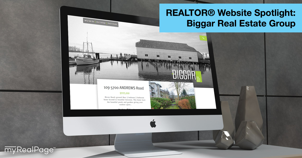 REALTOR® Website Spotlight – Biggar Real Estate Group