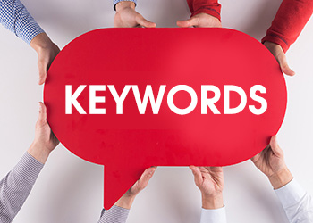 Use keywords on your YouTube videos for better visibility