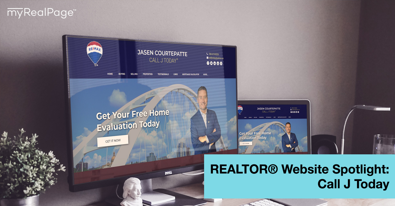 REALTOR® Website Spotlight – Call J Today