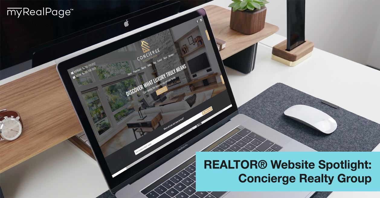 REALTOR® Website Spotlight – Concierge Realty Group