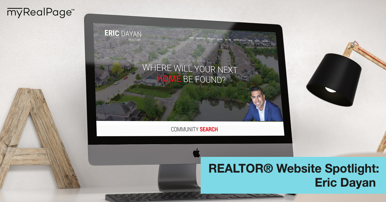 REALTOR® Website Spotlight – Eric Dayan