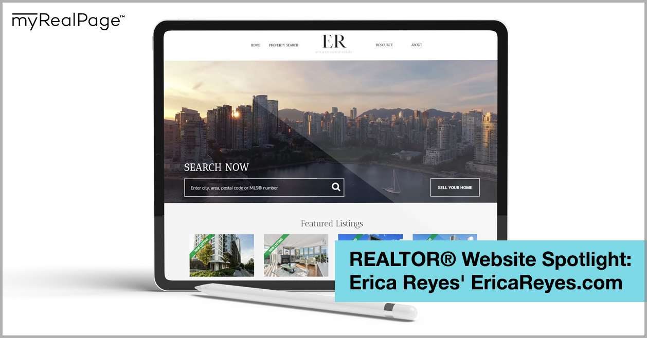 REALTOR® Website Spotlight - Erica Reyes' EricaReyes.com