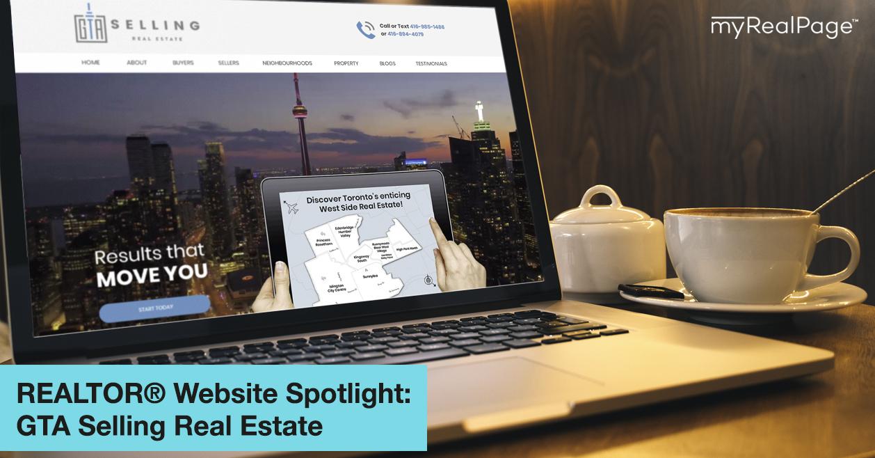 REALTOR® Website Spotlight - GTA Selling Real Estate