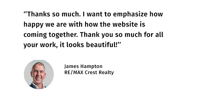 James Hampton Testimonial