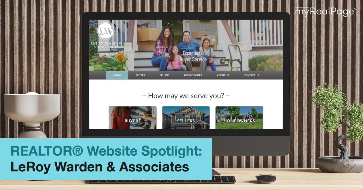 REALTOR® Website Spotlight - LeRoy Warden & Associates