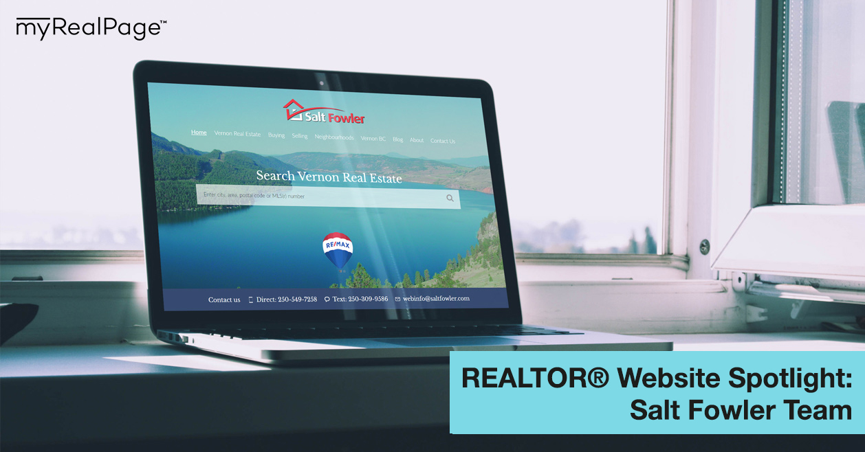 REALTOR® Website Spotlight - Salt Fowler Team