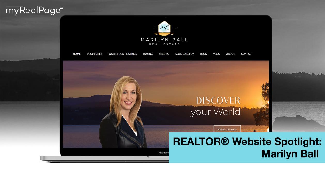 REALTOR® Website Spotlight – Marilyn Ball