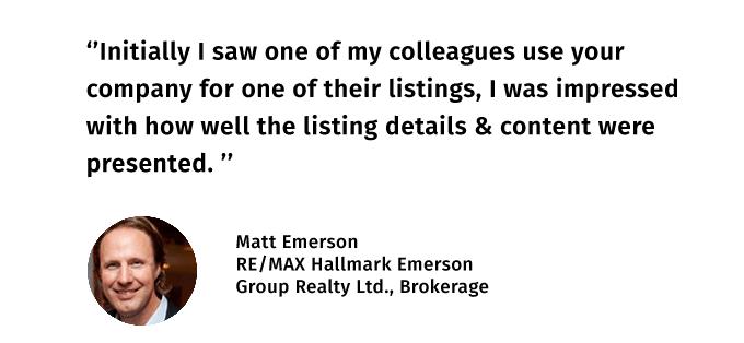 Matt Emerson Testimonial 2