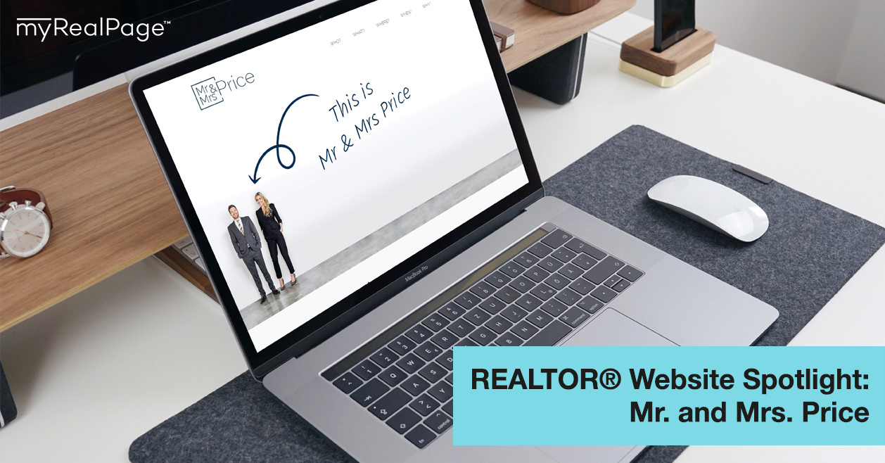 REALTOR® Website Spotlight - Mr. and Mrs. Price