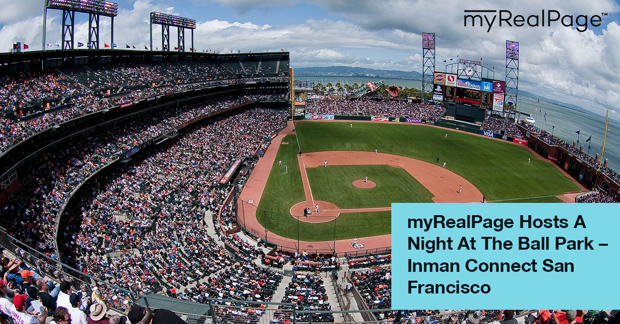 myRealPage Hosts A Night At The Ball Park - Inman Connect San Francisco