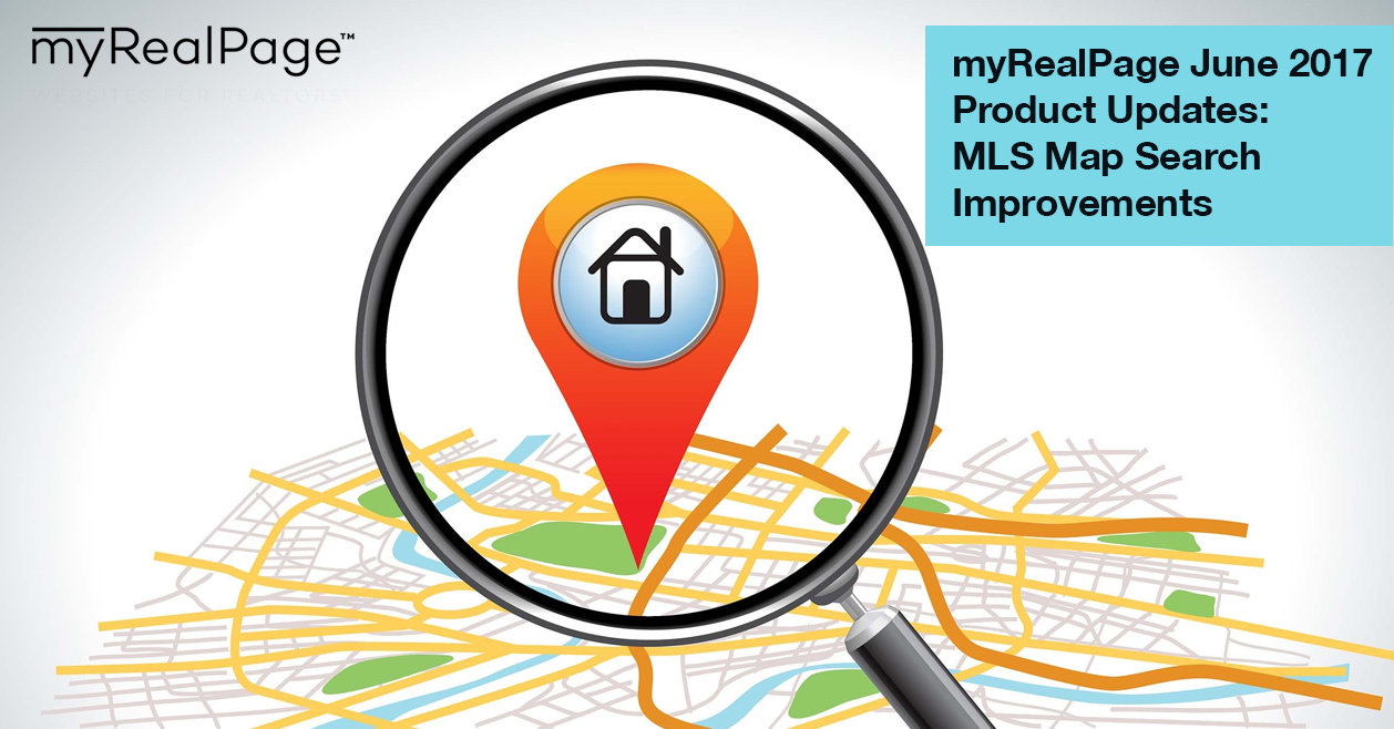 myRealPage June 2017 Product Updates: MLS Map Search Improvements