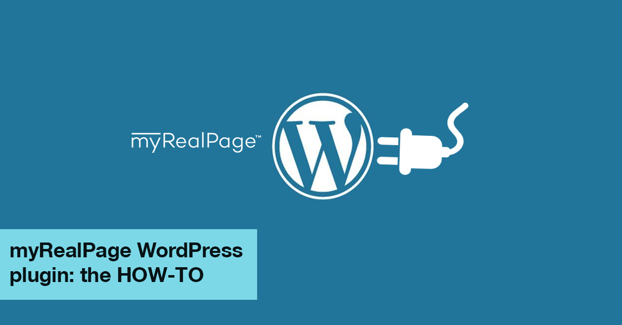 MyRealPage WordPress Plugin: The HOW-TO