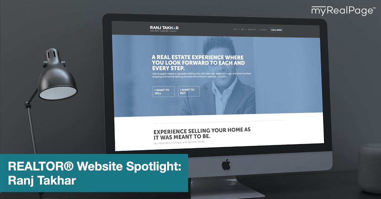REALTOR® Website Spotlight – Ranj Takhar