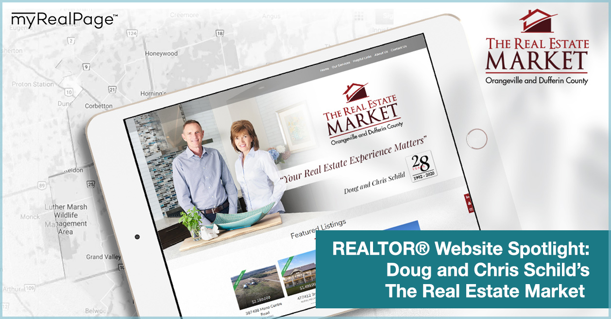 REALTOR® Website Spotlight - Doug and Chris Schild's The Real Estate Market