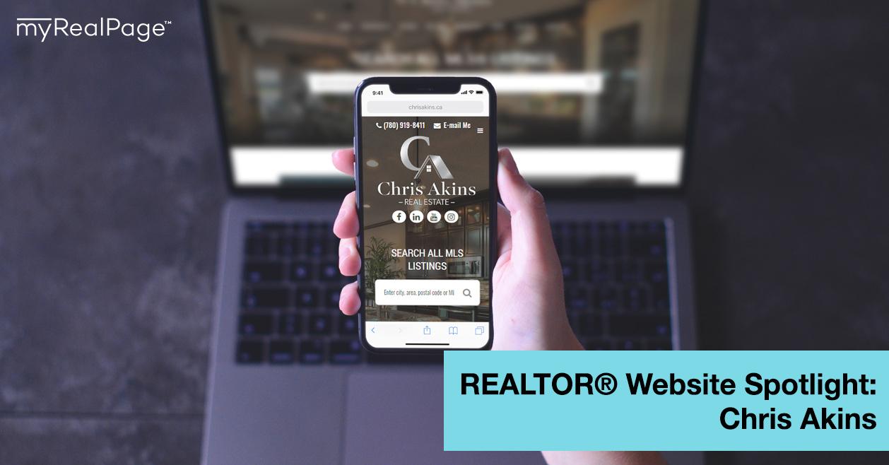 REALTOR® Website Spotlight – Chris Akins