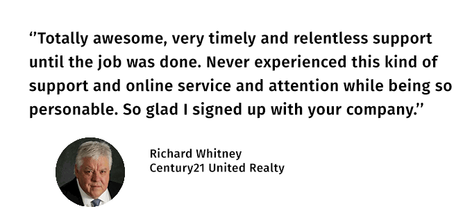 Richard Whitney Testimonial