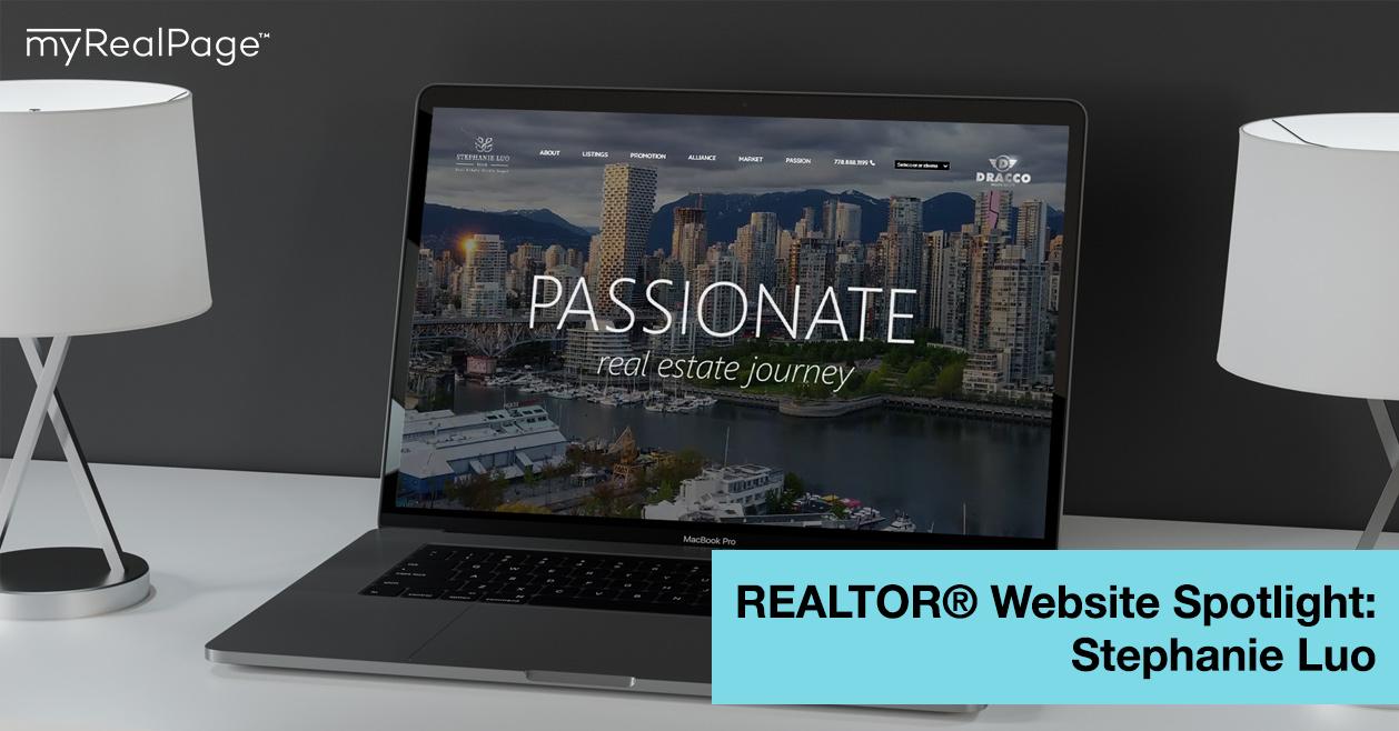 REALTOR® Website Spotlight - Stephanie Luo