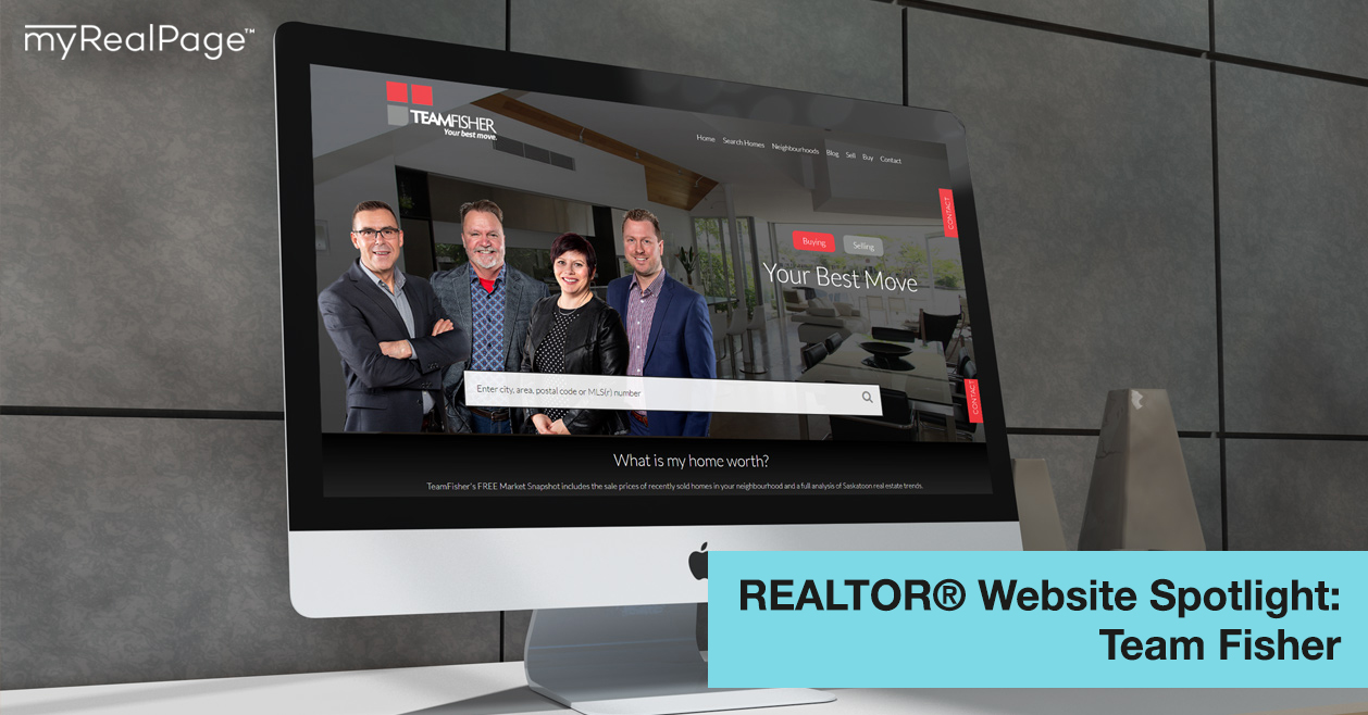 REALTOR® Website Spotlight – Team Fisher