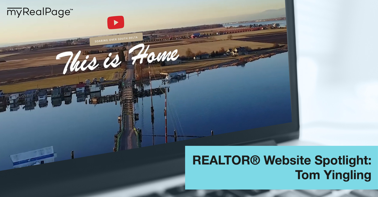 REALTOR® Website Spotlight - Tom Yingling