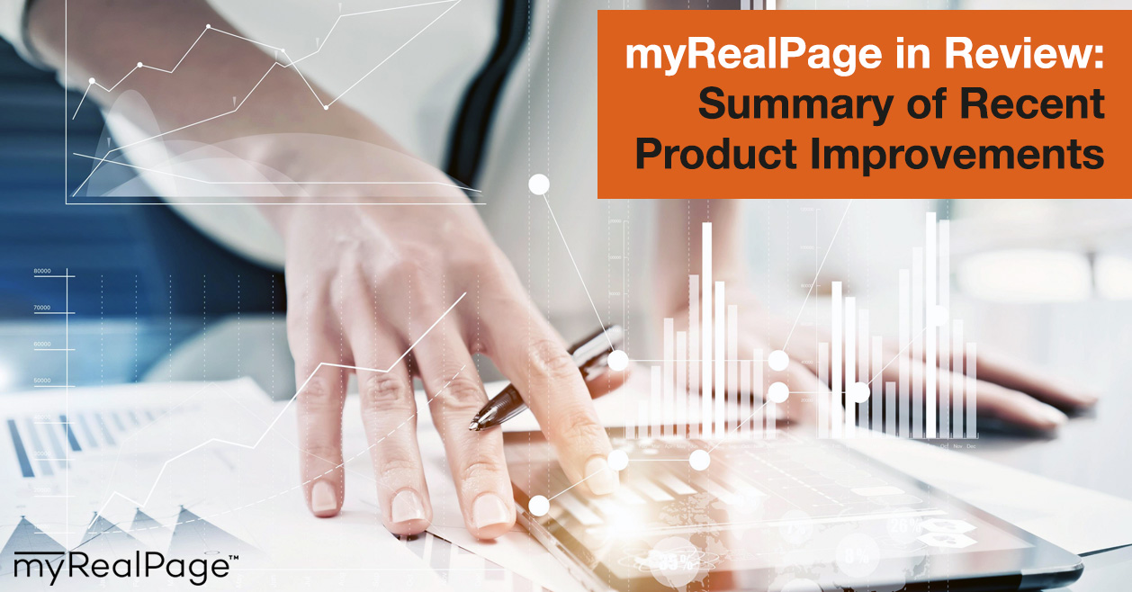 MyRealPage In Review: Summary Of Recent Product Improvements